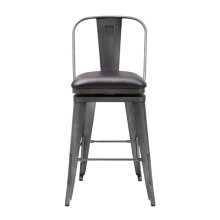 Metal Uph Swivel Barstool