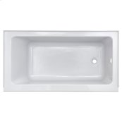 Studio 60 x 30-inch Bathtub with Apron  Left Drain  American Standard - Arctic
