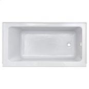 Studio 60 x 30-inch Bathtub with Apron  Left Drain  American Standard - Arctic