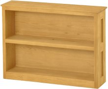 Wide Bookcase, Short