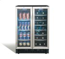 "Emmental 24"" French door beverage center. Product Image"