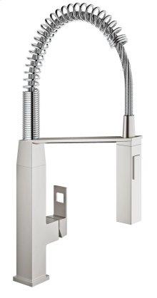 Eurocube Single-Handle Kitchen Faucet