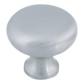 Round Knob 1 1/4 Inch - Brushed Nickel