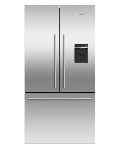 French Door Refrigerator 17 cu ft, Ice & Water Product Image