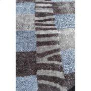 Shaggy Rug Grey Silk & Polyester Product Image