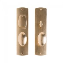 "Convex Entry Set - 2 1/2"" x 10"" Silicon Bronze Brushed"