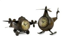 Lindbergh Aviation Clocks - Set of 2