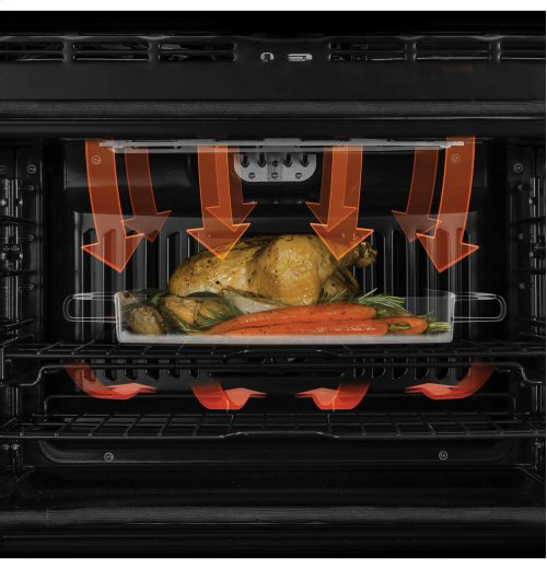 """GE Profile™ Series 30"""" Built-In Single Convection Wall Oven (Scratch & Dent)"""