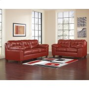 Signature Design by Ashley Alliston Living Room Set in Salsa DuraBlend [FSD-2399SET-RED-GG] Product Image