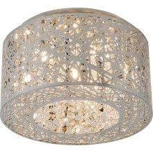 Inca 7-Light Flush Mount W/LED Bulb