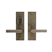 "Flute Entry Set - 3"" x 10"" Silicon Bronze Brushed with Basic"