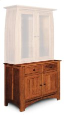 "Aspen Hutch Base with Inlay, Medium, Aspen Hutch Base, Medium, 19"" Base Product Image"