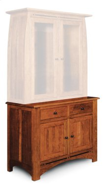 "Aspen Hutch Base with Inlay, 45 1/2""w, Aspen Hutch Base, 45 1/2""w, 22"" Base"