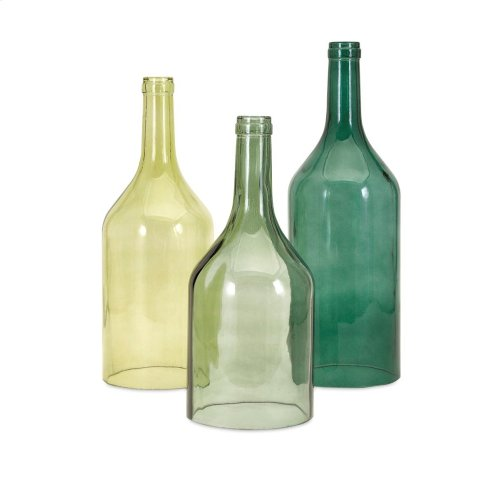 TY Persimmon Cloche Bottles - Set of 3