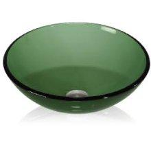 Glass Vessel Color Round