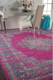 Passion Psn03 Fuchsia Rectangle Rug 1'10'' X 2'10''