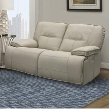 Spartacus Oyster Power Loveseat