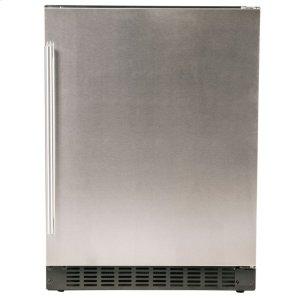 """Azure Home ProductsRefrigerator - 24"""" Solid Stainless Door"""