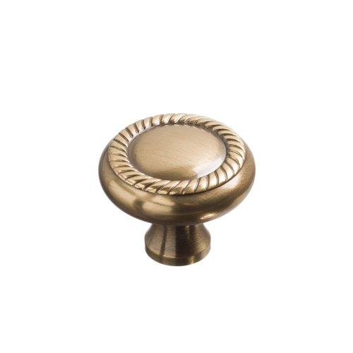 """1 1/2"""" Rope knob - Antique Bronze"""