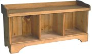 3-Cube Cubby Bench Product Image