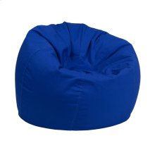 Small Solid Royal Blue Kids Bean Bag Chair