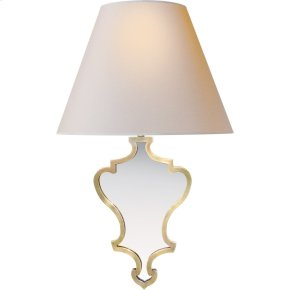 Visual Comfort AH2030NB-NP Alexa Hampton Madeline 1 Light 11 inch Natural Brass Decorative Wall Light