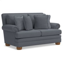 Brennan Premier Loveseat w/ Brass Nail Head Trim