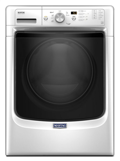 Mhw3505fw In White By Maytag In Beltsville Md Front Load Washer