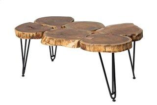 Deschutes 6 Log Coffee Table