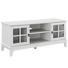 "Isle 47"" TV Stand in White"