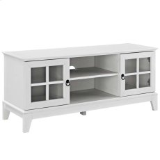 "Isle 47"" TV Stand in White Product Image"