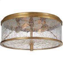 Visual Comfort KW4202AB-CRG Kelly Wearstler Liaison 2 Light 12 inch Antique-Burnished Brass Flush Mount Ceiling Light in Antique Burnished Brass, Medium