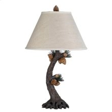 150W 3 Way Pinecone Table Lamp