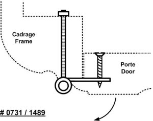 Armoire Lace Hinge