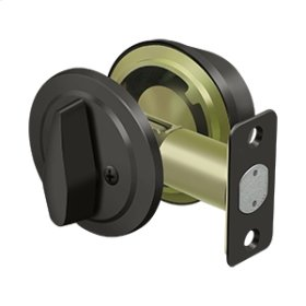 Single Cylinder Deadbolt, Grade 2, KA2, Heavy Duty - Oil-rubbed Bronze
