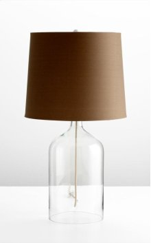 See Through Table Lamp #2 Clear