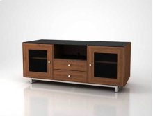 "AV Stand For TVs up to 70"" and 150 lbs / 68 kg - Natural Walnut"