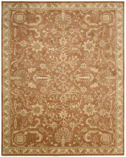 Jaipur Ja45 Terracotta Rectangle Rug 7'9'' X 9'9''