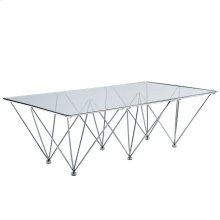 Prism Rectangle Coffee Table in Clear