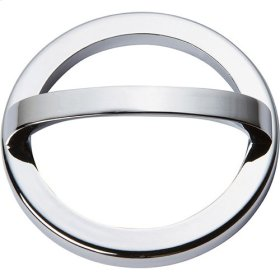 Tableau Round Base and Top 3 Inch - Polished Chrome