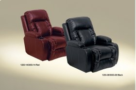 Chaise Inch-Away W/2 Cupholders - Red