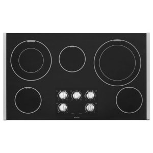 Maytag36-Inch Wide Electric Cooktop With Dual-Choice Elements