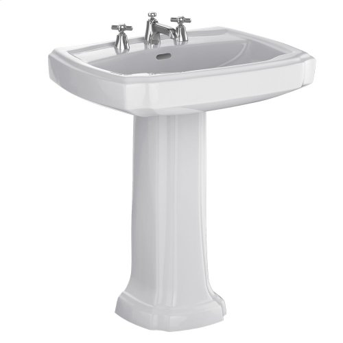 "Guinevere® 27"" Pedestal Lavatory - Colonial White"