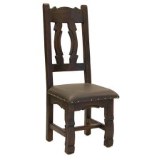 Ox Yoke Chair W/Upholstered Seat