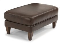 Digby Leather Cocktail Ottoman