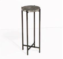 Laurent Round Drink Table - Grey