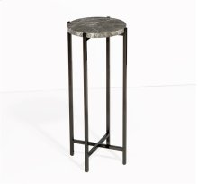 Laurent Round Drink Table - Grey