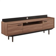 """Visionary 71"""" TV Stand in Walnut Black"""
