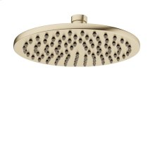 "Modern 8"" Rain Head - Brushed Brass"