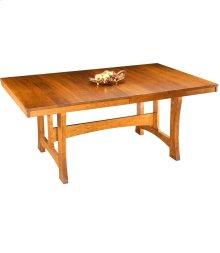 Mission Large Extension Trestle Table